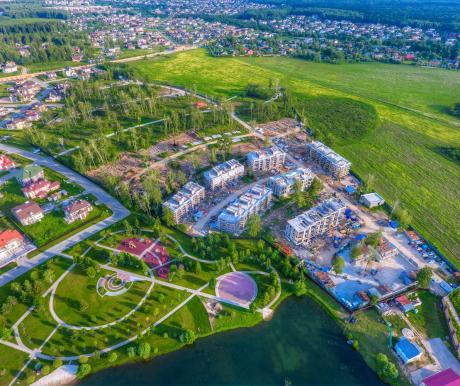 В Park Fonte началось строительство второй очереди